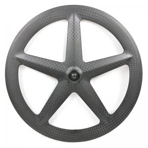 Fantastic Outlooking VX-5F carbon 5 spoke bicycle road track wheel 700c with basalt surface