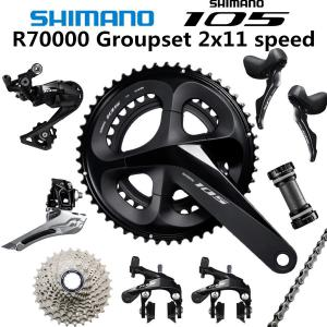 SHIMANO 5800 105 R7000 Groupset R7000 Derailleurs ROAD Bicycle 50-34 52-36 53-39T 165 170 172.5 175MM 12-25 11-28 30T 32T34T