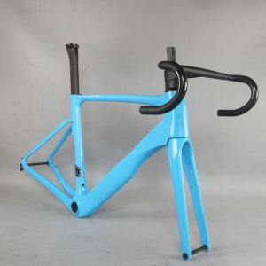 2021 new All inner cable disc carbon road frame Bicycle Frameset EPS technology disc carbon frame TT-X22