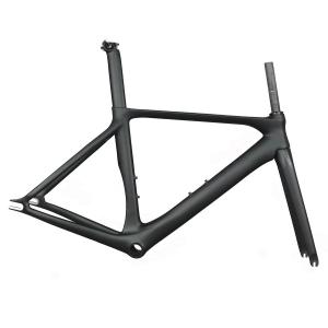 2019 700C new design bike carbon fixed gear bike frame with BB86 carbon fixed bike frame aero bicycle frame
