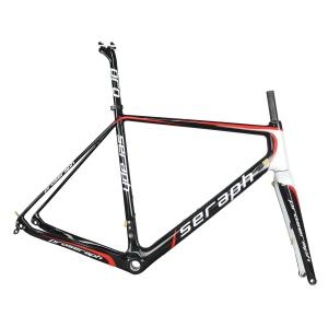 SERAPH carbon road bike frames for sale carbon gravel frame Cyclocross Frame Disc GR029 from Tantan factory