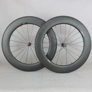 88*25mm tubular full carbon wheels T800 light weight