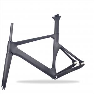 Chinese Fixed Gear 700c carbon fiber track carbon bike frame