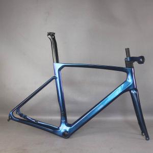 2021 new disc carbon road frame Bicycle Frameset T1000 New EPS technology disc carbon frame TT-X24