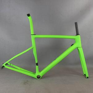 2021 custom painting Flat Mount disc carbon road frame Bicycle Frameset T1000 New EPS technology disc carbon frame TT-X19