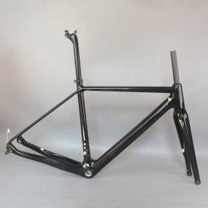 2021 SERAPH new disc cyclocross carbon frame Gravel 700C Carbon Bike Frame, Di2 Carbon Cyclocross Frame with 100*12mm fork