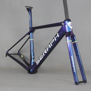 SERAPH Paint Flat Mount disc carbon road frame Bicycle Frameset New EPS technology disc road bike frame